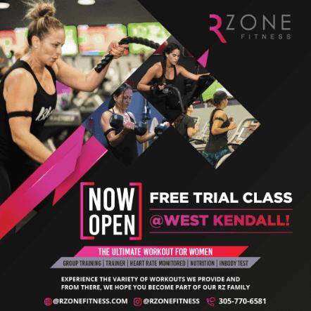 RZone Fitness Kimp banner