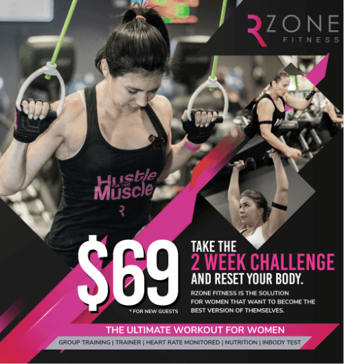 RZone Fitness Kimp banner